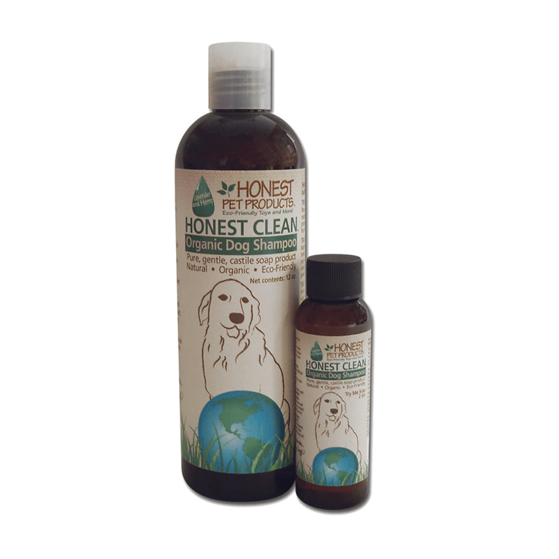 Honest Clean Organic Dog Shampoo