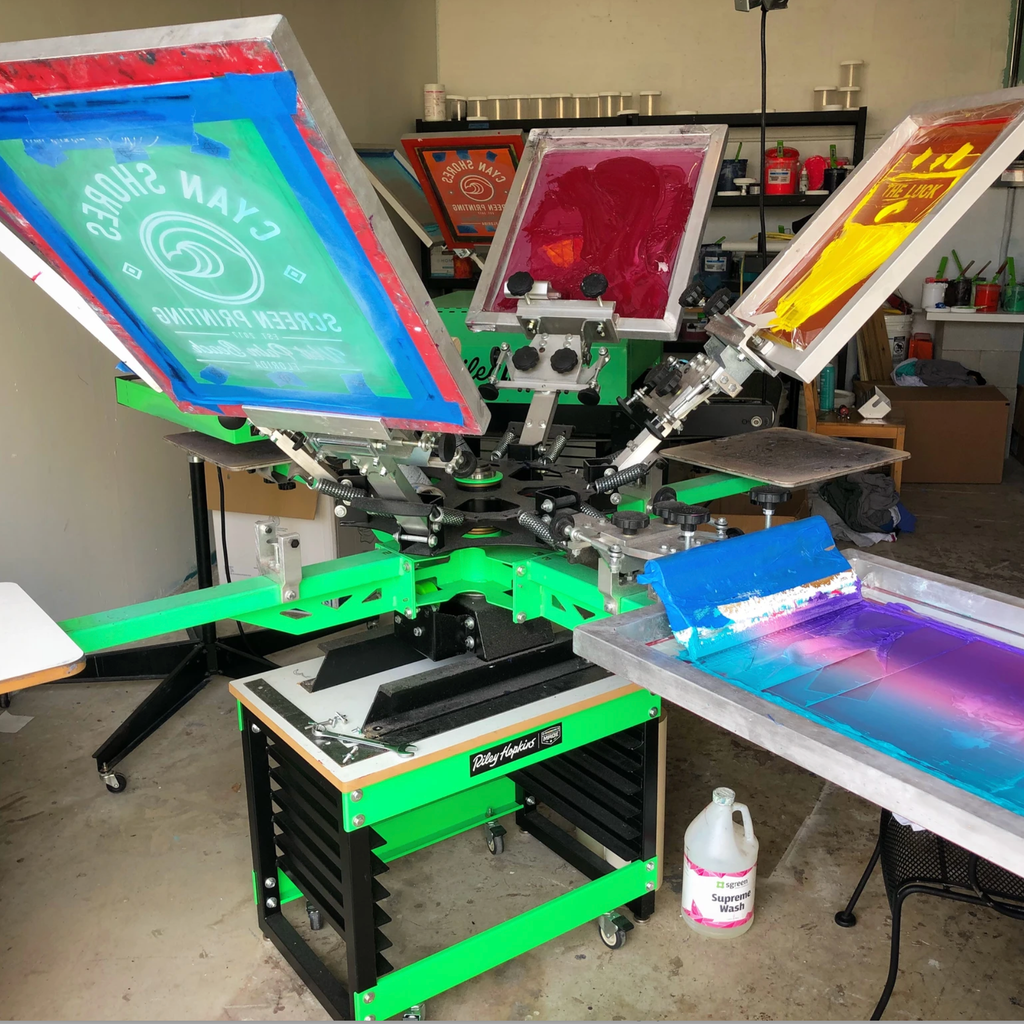 Screen Printing Workshop with Cyan Shores