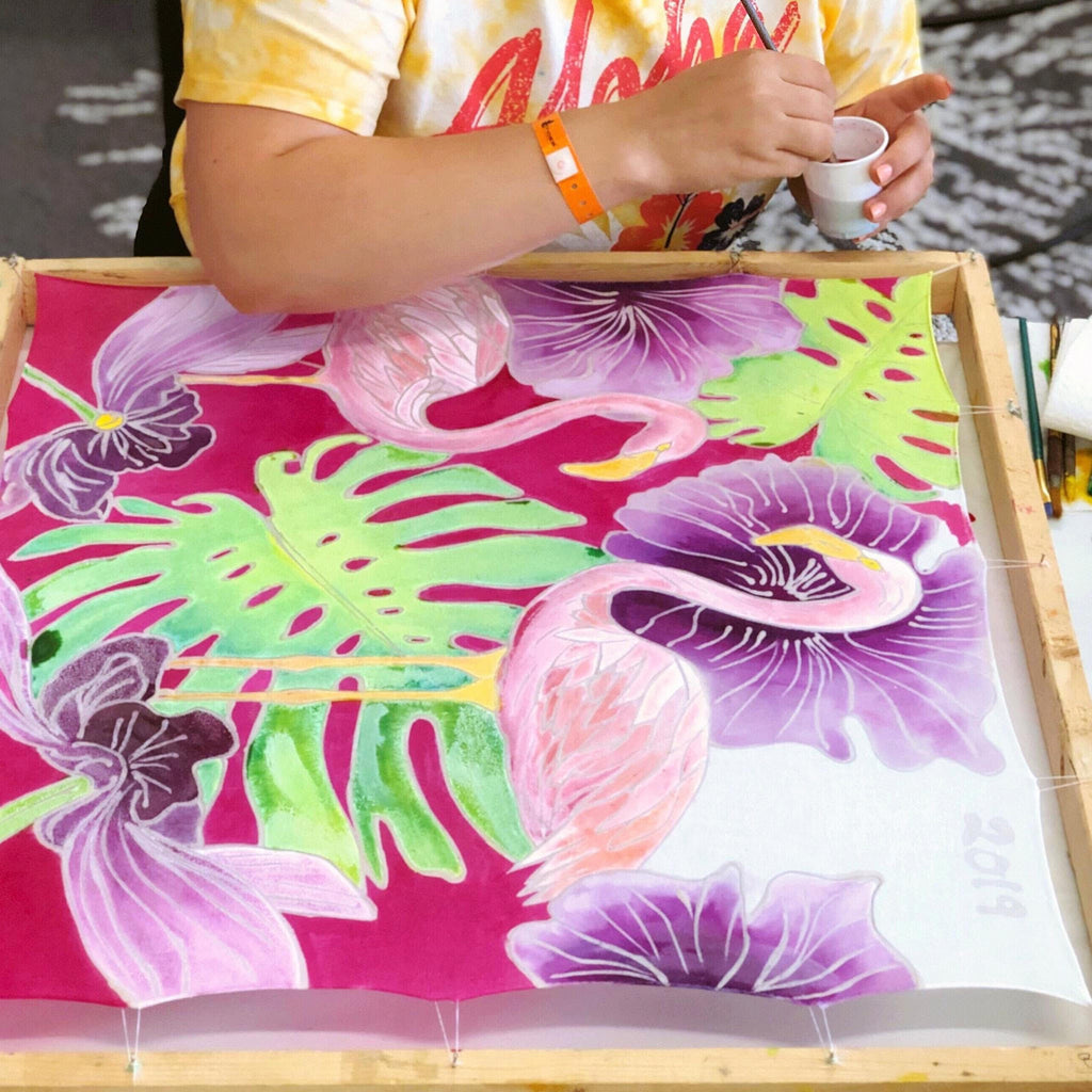 Batik Scarf Painting Workshop