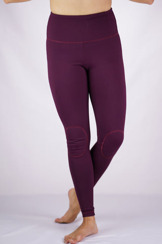 High-Rise Cushy Yoga Pant | Merlot