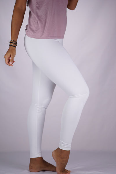 High-Rise Cushy Yoga Pant | White