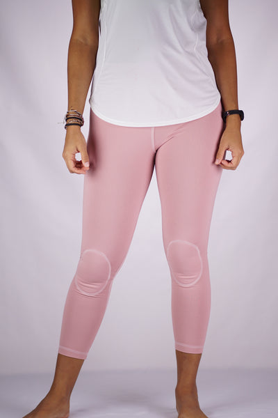 High-Rise Cushy Yoga Capri | Blush