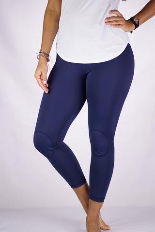 High-Rise Cushy Yoga Pant | Navy Blue