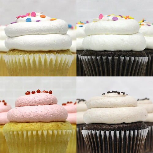 Birthday - 4 Pack of Cupcakes