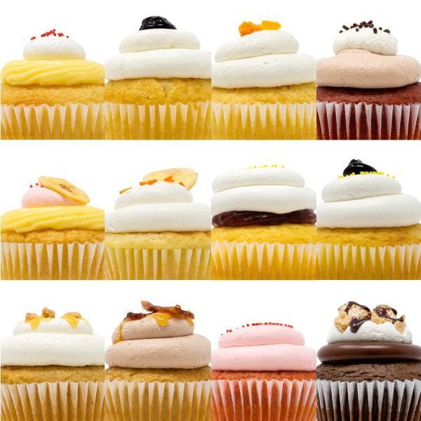 Cupcake 12 Pack :|: Let's Celebrate Gift Box