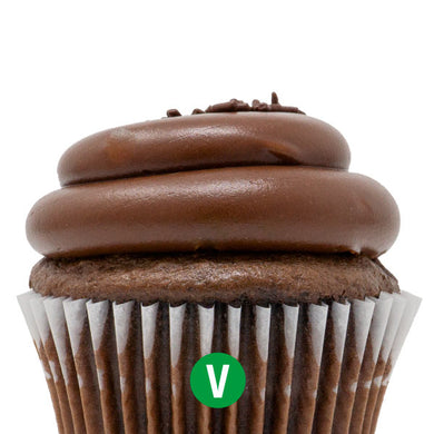 Vegan Chocolate with Chocolate Fudge Cupcake