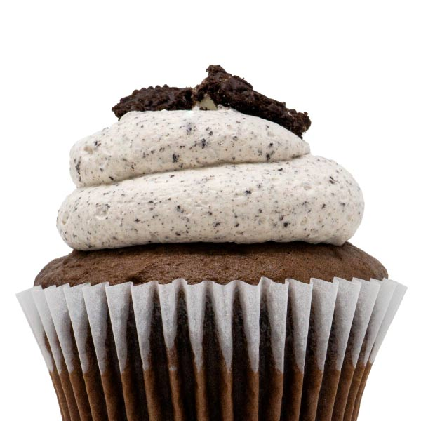 Chocolate with Oreo Mousse Cupcake
