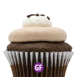 Gluten-Free - Chocolate with Nutella Cupcake