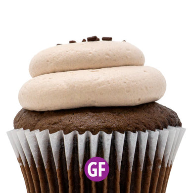 Gluten-Free - Chocolate with Chocolate Mousse Cupcake