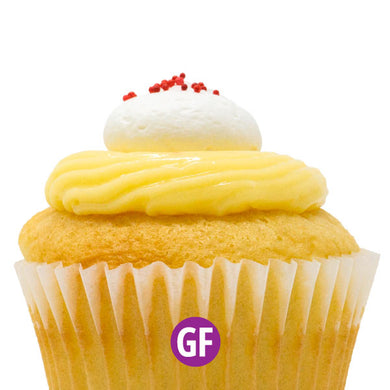 Gluten-Free - Strawberry Blonde Cupcake