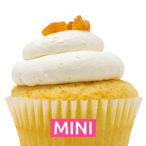Apple Bliss Mini Cupcakes - Dozen