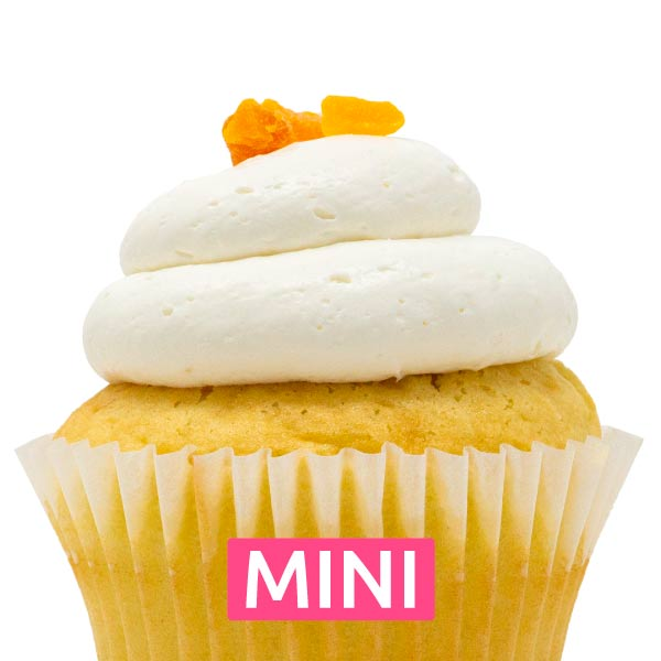 Mango Bliss Mini Cupcakes - Dozen