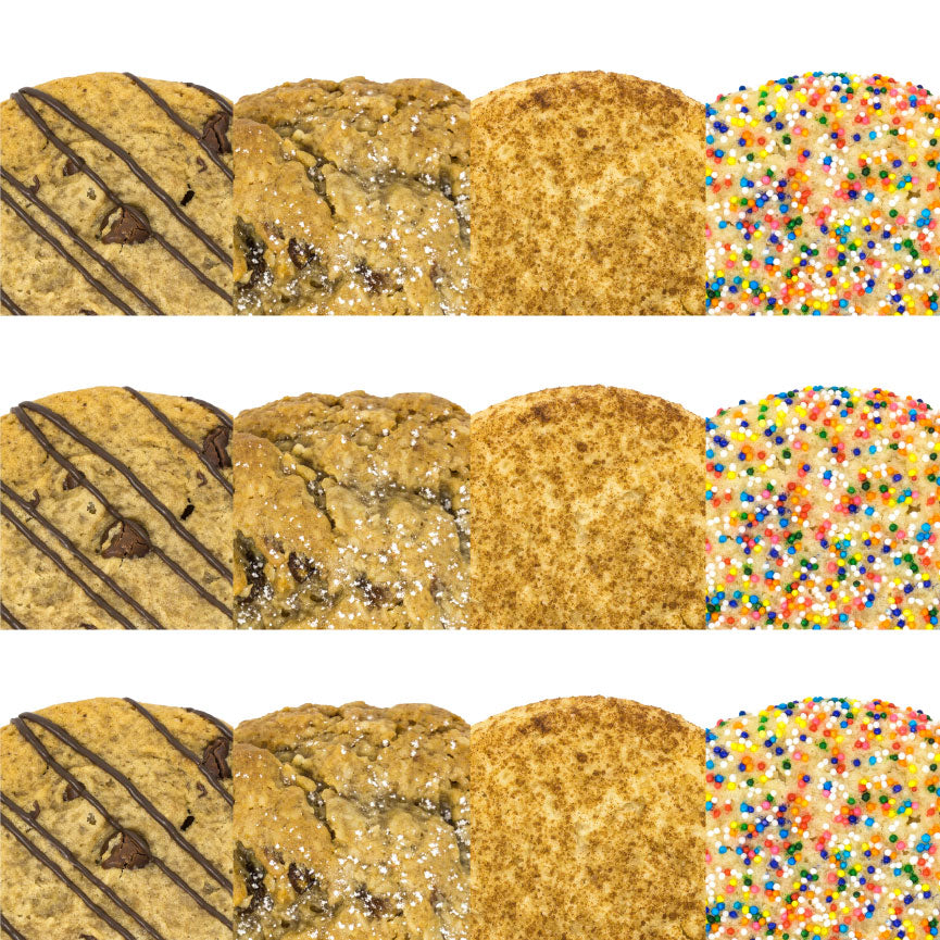 The Classics - Cookie 12 Pack