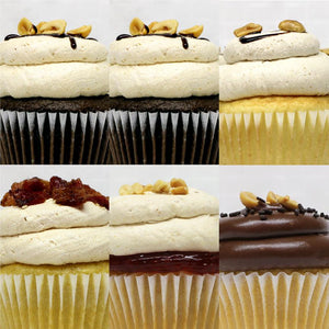 Peanut Butter Bliss - 6 Pack of Cupcakes