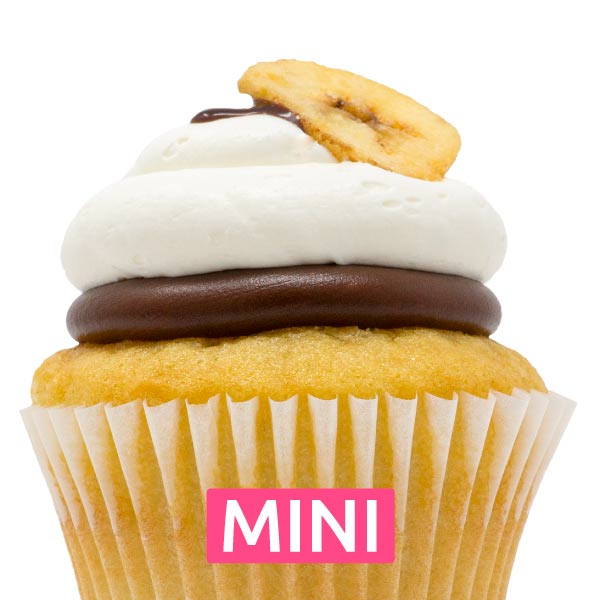 Monkey's Uncle Mini Cupcakes - Dozen