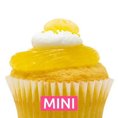 Lemon Drop Mini Cupcakes - Dozen