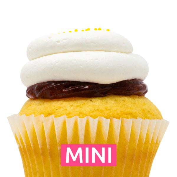 Lemon Razzle Mini Cupcakes - Dozen