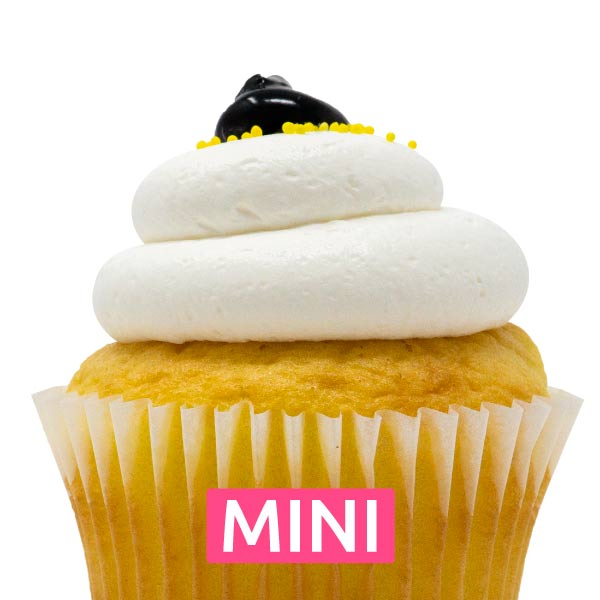 Lemon Blueberry Mini Cupcakes - Dozen