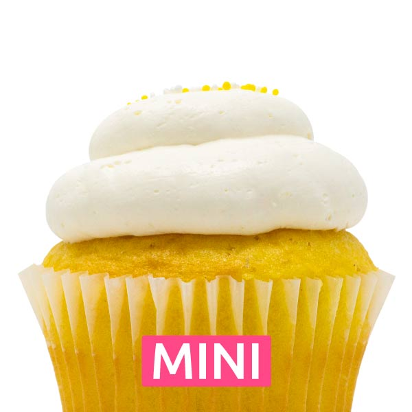 Lemon Bliss Mini Cupcakes - Dozen