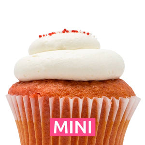 Strawberry Bliss Mini Cupcakes - Dozen
