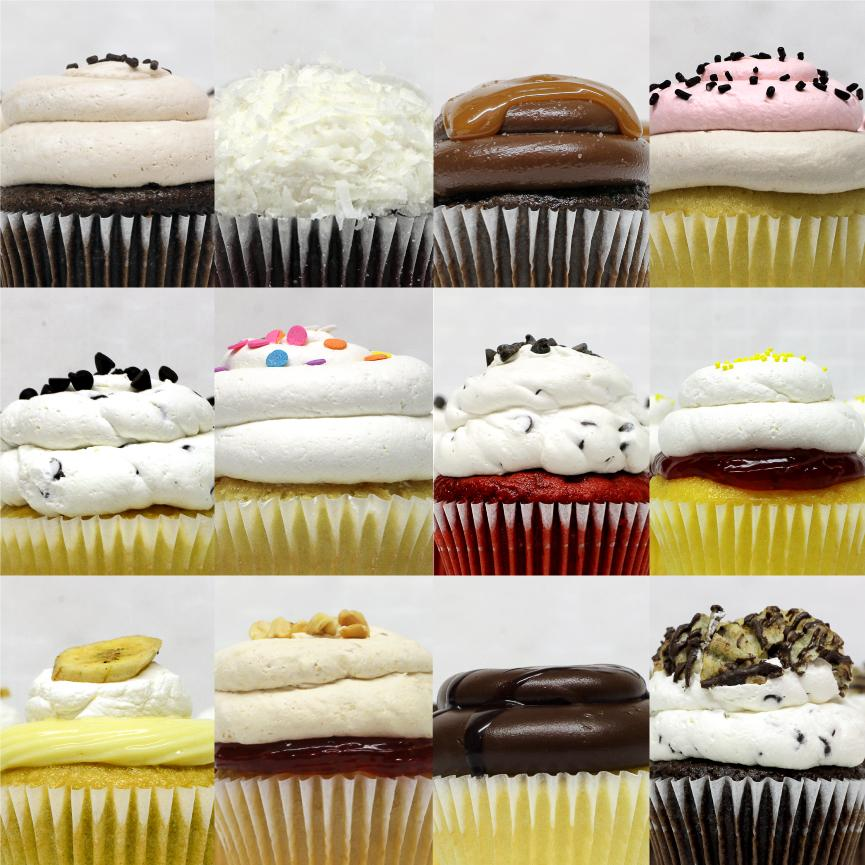 The Smiles Mix - 12 Pack of Cupcakes
