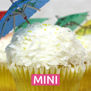 Lemon Colada Mini Cupcakes - Dozen
