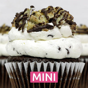 Chocolate Chipper Mini Cupcakes - Dozen
