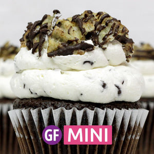 Gluten-Free - Chocolate Chipper Mini Cupcakes - Dozen
