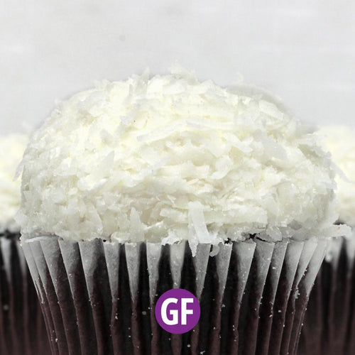 Gluten-Free - Chocolate with Coconut Cupcake