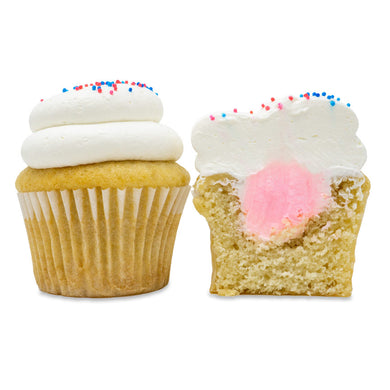 Gender Reveal Cupcakes - 6 Pack