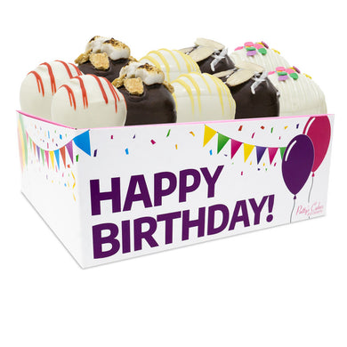 Cake Ball 12 Pack :|: Birthday Gift Box