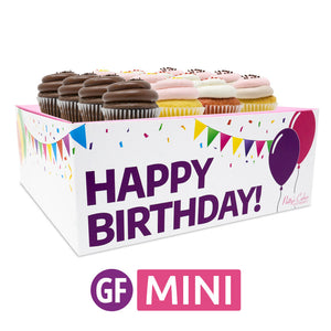 Gluten-Free Mini Cupcakes - Choose Your Flavors - 12 :|: Birthday Gift Box