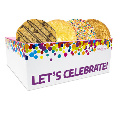 Cookie 4 Pack :|: Let's Celebrate Gift Box