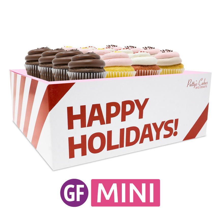 Gluten-Free Mini Cupcakes - Choose Your Flavors - 12 :|: Holiday Gift Box