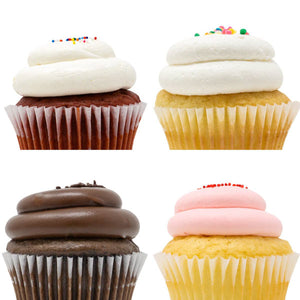 Mini Cupcakes - 12 Pack :|: Holiday Gift Box