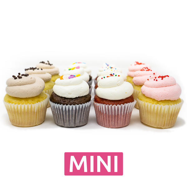 Mini Cupcakes - Split Dozen