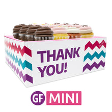 Gluten-Free Mini Cupcakes - Choose Your Flavors - 12 :|: Thank You Gift Box