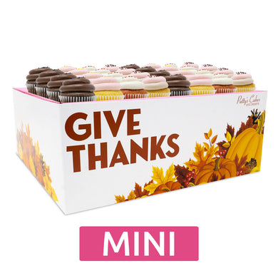 Mini Cupcakes - 24 Pack :|: Thanksgiving Gift Box