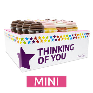 Mini Cupcakes - 12 Pack :|: Thinking of You Gift Box