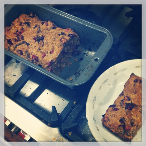 Recipe: Vegan Cranberry Bread - Can be Gluten Free and Sugar Free
