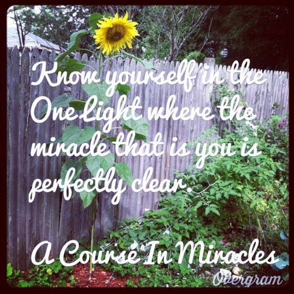Quote from A Course in Miracles