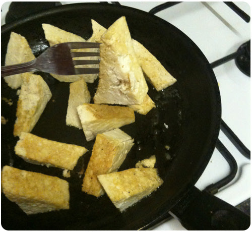 how to cook crispy tofu - recipe