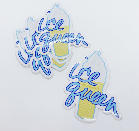 Ice Queen Soft Serve Sticker