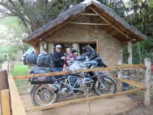 From single to married in a 10.000 km motorcycle trip