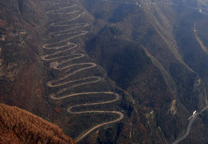The most amazing twisted roads in the world