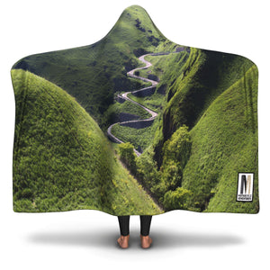 Hooded Blanket Twisted Paradise - Motorcycle Adventurers