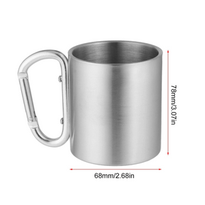 Adventure Rider Self Lock Steel Mug