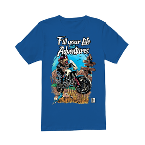 Fill Your Life with Adventures!  - Premium Men's T-shirt