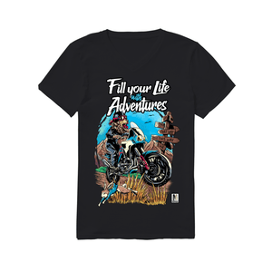 Fill Your Life with Adventures!  - Men's V-Neck T-Shirt