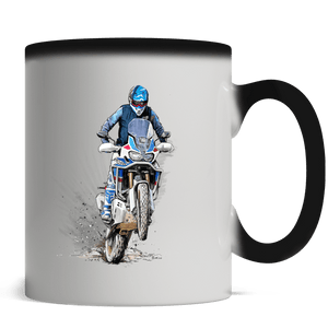 The beautiful Africa  - Magic Mug - Motorcycle Adventurers